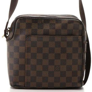 Auth Louis Vuitton Olav Pm Shoulder Bag #7155L28B